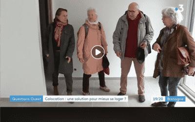 Reportage France 3, Colocation : une solution pour mieux se loger ?