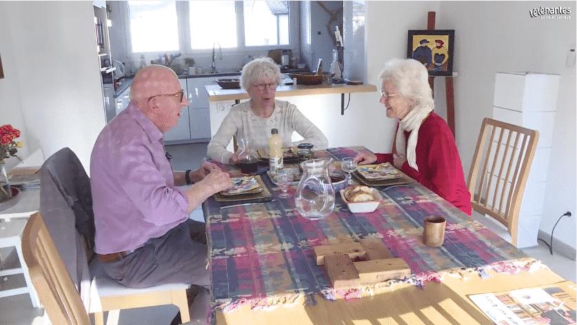 Reportage Télé Nantes – La colocation, les seniors s'y mettent.