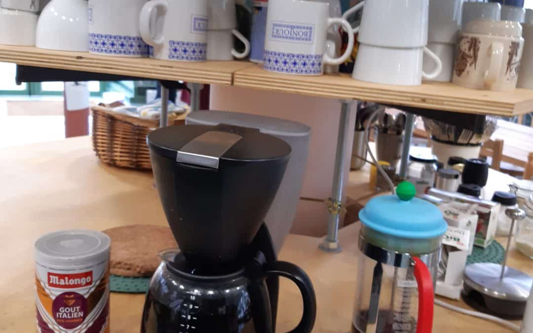 Maintien du café de la colocation aujourd'hui
